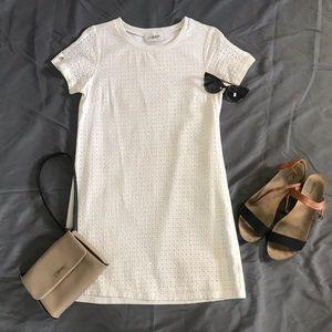 Olive + Oak White Dress